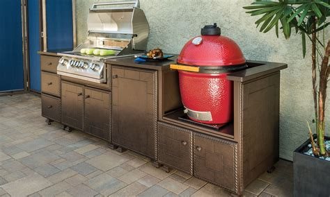 Center Islands For Kitchen - outdoor kitchens gt kitchen islands gt gas kamado grill island gensun casual living