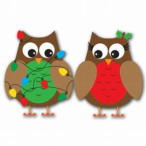 Winter Owl Christmas Clipart - Clipart Suggest