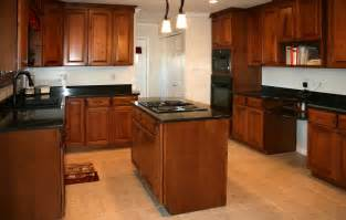 kitchen ideas cherry cabinets kitchens18l maple kitchen cabinets with cherry stain jpg from works of tile kitchen cabinet