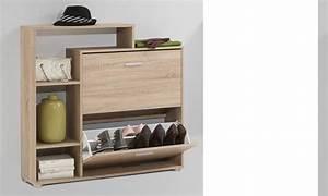 Meuble entree avec rangement chaussures for Wonderful meuble d entree avec banc 6 meuble dentree vestiaire pin blanc trendymobilier
