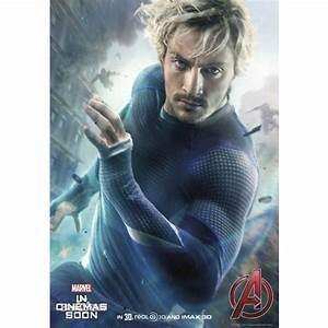 Marvel Avengers 2 Age of Ultron Quicksilver short sleeves ...