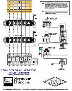 Hss Wiring Diagram Coil Split 1 Volume 2 Tones
