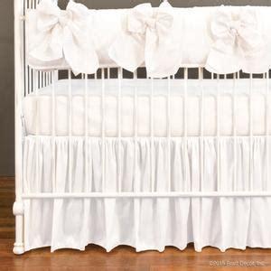 bratt decor crib skirt serafina crib rail collection white
