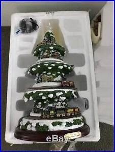Christmas Light Clips For Reindeer Thomas Kinkade Wonderland Express Animated Tabletop