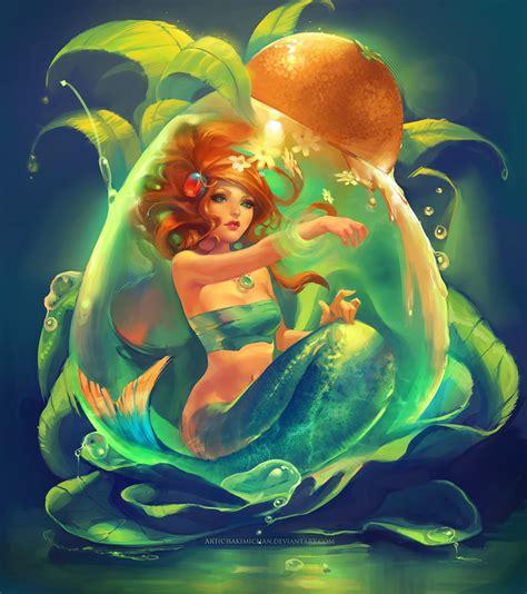 Mermaid Moon Fantasy Widescreen Hd Wallpaper Beautiful