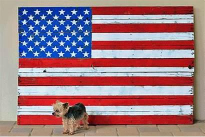 Flag American Wood Reclaimed Usa Pallet Diy
