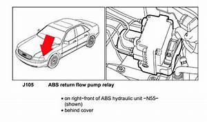 Abs Error Light - 00301 Return Flow Pump Implausible Signal