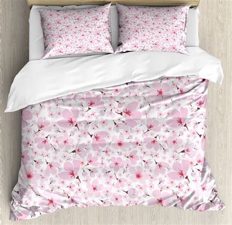 Pink And White Duvet Set by Pink And White King Size Duvet Cover Set Symbolic