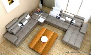 sofa in u form sale large u shaped villa home sofa set top grain leather s8623 2 580 mybestfurn