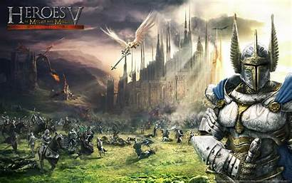 Heroes Might Magic Games Fantasy Wallpapers Battle