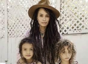 Lisa Bonet and Kids