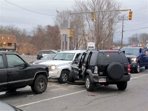 Three Car Crash On Route 28 In Yarmouth