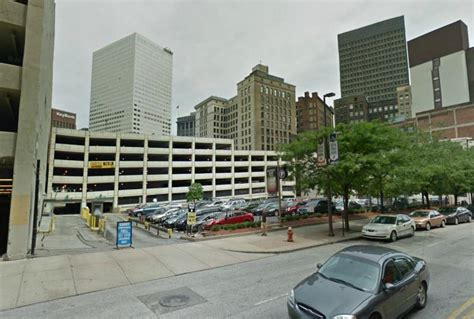east garage quicken loans arena abm parking services at 720 euclid ave cleveland parking