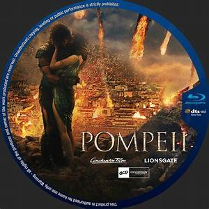 Pompeii - Custom DVD Labels - Pompeii Custom BD label Pips ...