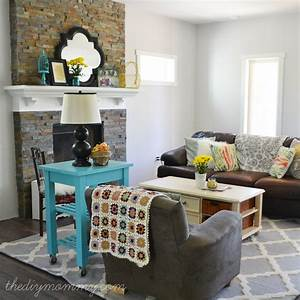 "Our ""Rustic Glam Farmhouse"" Living Room – Our DIY House"