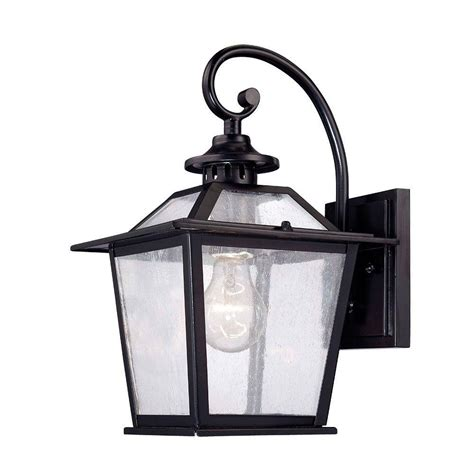 acclaim lighting salem collection 1 light matte black