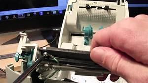 Zebra Lp2844 Printhead Replacement Guide