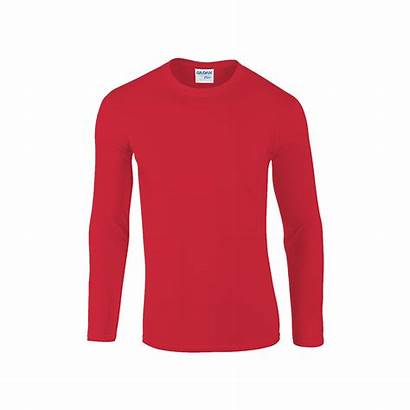 Sleeve Shirt Plain Shirts Cotton Gildan Dri