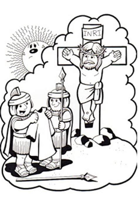 Dibujos del Vía Crucis de Jesús para colorear Colorear