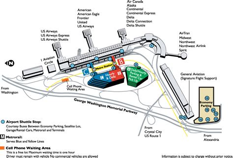 dca terminal map food diet