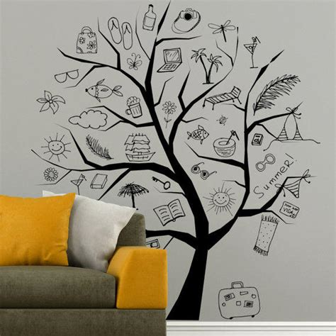 Bedroom Wall Drawings by I180 Wall Decal Vinyl Sticker Decor From Elitesticker