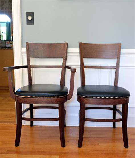 impulsive dining room changes pottery barn chairs