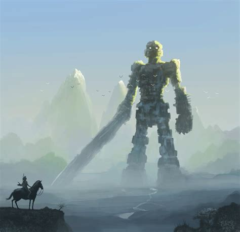 Shadow Of The Colossus By Edsfox On Deviantart