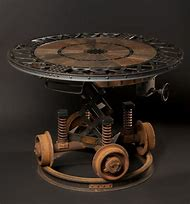Steampunk Industrial Coffee Table