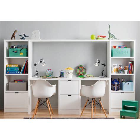 meuble rangement bureau ensemble bureau bibliothèque et caisson de