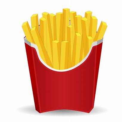 French Clipart Fries Junk Transparent Drinks Cartoon