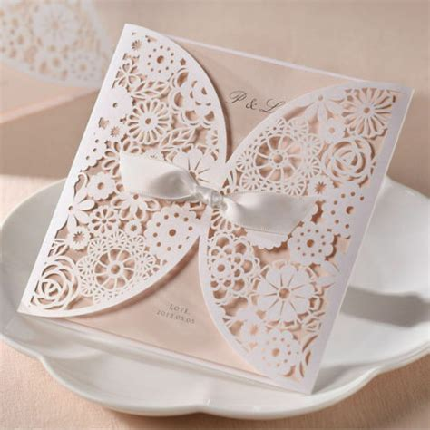 diy making your own vintage lace wedding invitations ebay