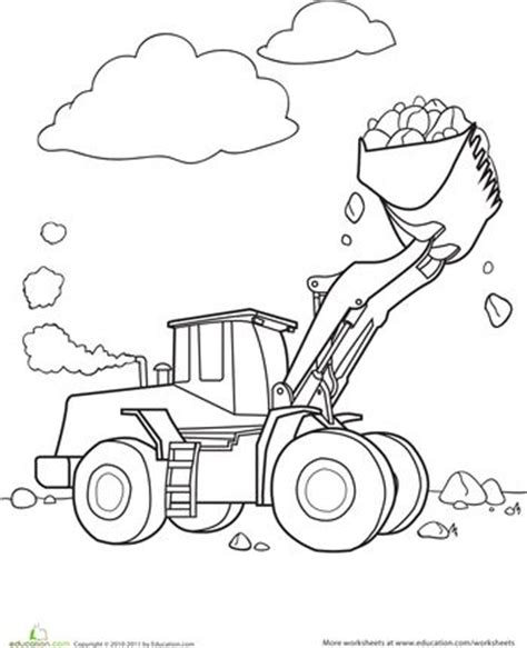 Here are all the coloring pages published on scrapcoloring. Color the Bulldozer | Worksheets and Preschool themes