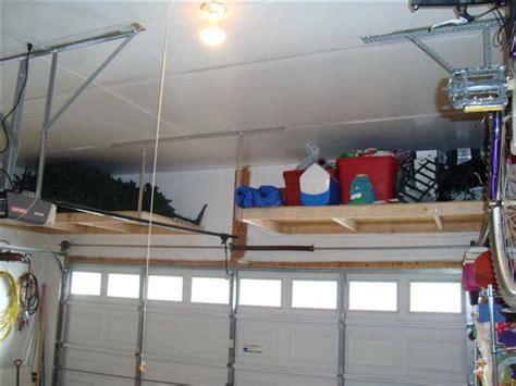build overhead garage storage woodwork diy garage overhead storage plans plans pdf free diy build a baby crib a