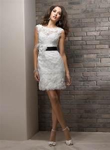 Amazing decent wedding dresses for civil wedding for Civil wedding dress