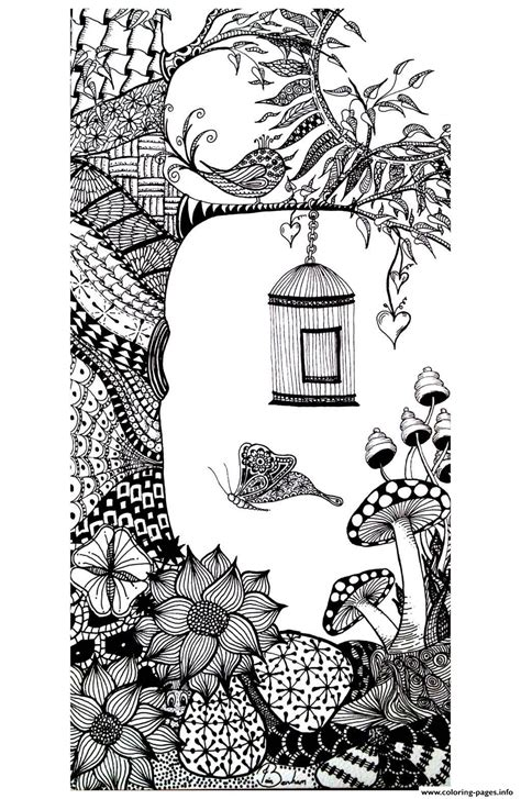 adult vegatation butterfly bird coloring pages printable