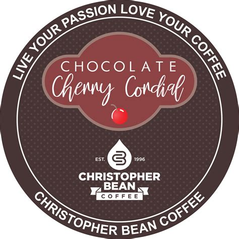 Herbal remidies, instant herbal tea, instant coffee mixture coffee, baerbal toothpaste, cordial, yam foods. Chocolate Cherry Cordial Single Cup ( New 18 Count Box ) - Christopher Bean Coffee Company