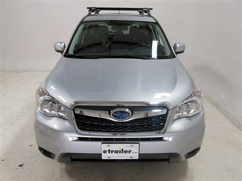 subaru forester roof rack 2008 subaru forester 48 quot crossbars for yakima roof