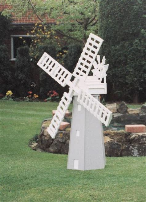working garden windmill model plan hobbies