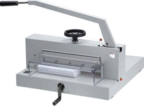massicot de bureau massicot ideal 4705 reliure plastification