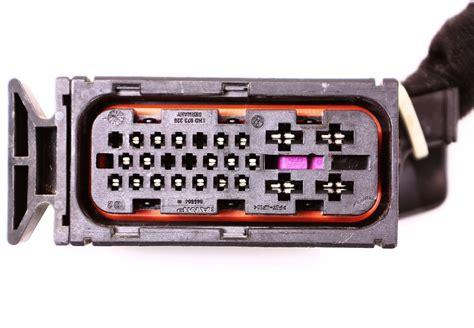 abs pigtail vw jetta golf mk4 anti lock brake wiring genuine ebay