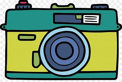 Camera Clipart Disposable Cartoon Graphic Transparent Library