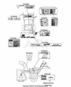 Mtd 31ah553g401  2000  Parts Diagram For Decals
