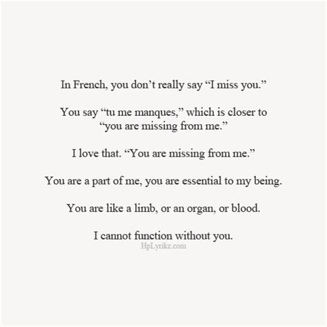 Missing The One You Love Quotes Tumblr