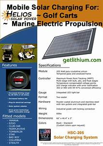 Solar Power Panels For Golf Carts  Custom Spec