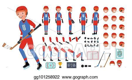 Ecmascript is a primary means of creating animations and interactive user interfaces within svg. Vector Stock - Ice hockey player vector. animated ...