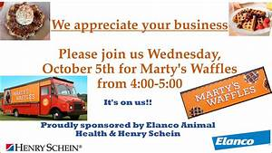 Join us for Marty's Waffles on Wed Oct 5, 2016 between 4 ...