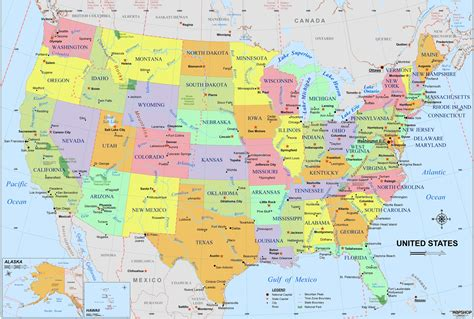 Image result for usa, map