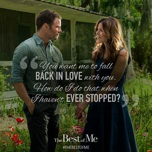 THE BEST OF ME NICHOLAS SPARKS QUOTES WITH PAGE NUMBERS ...