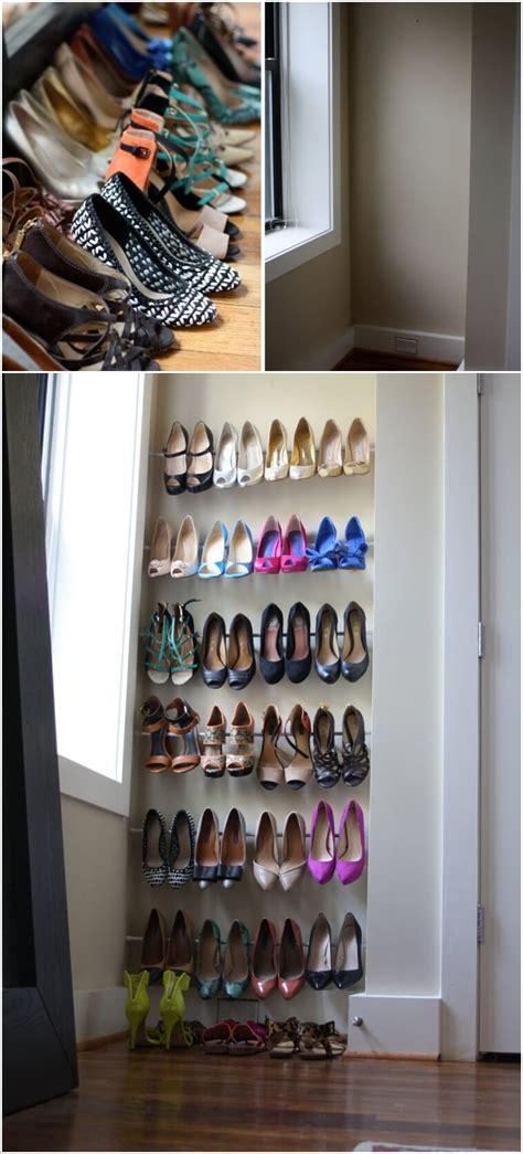 budget friendly shoe storage ideas
