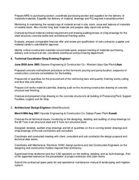 Resume M2016-Procurement Engineer and Buyer